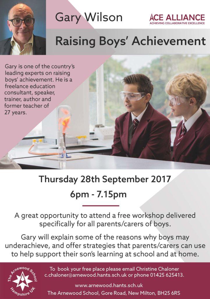 Gary Wilson - Raising Boys' Achievements