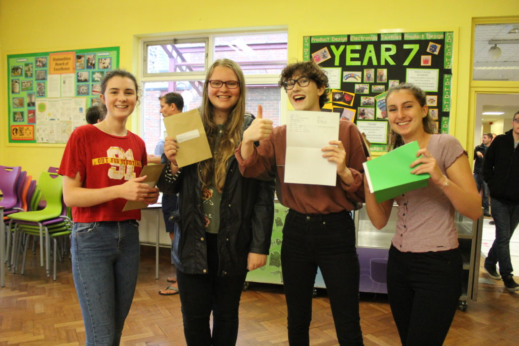 Students achieve top A-level Results