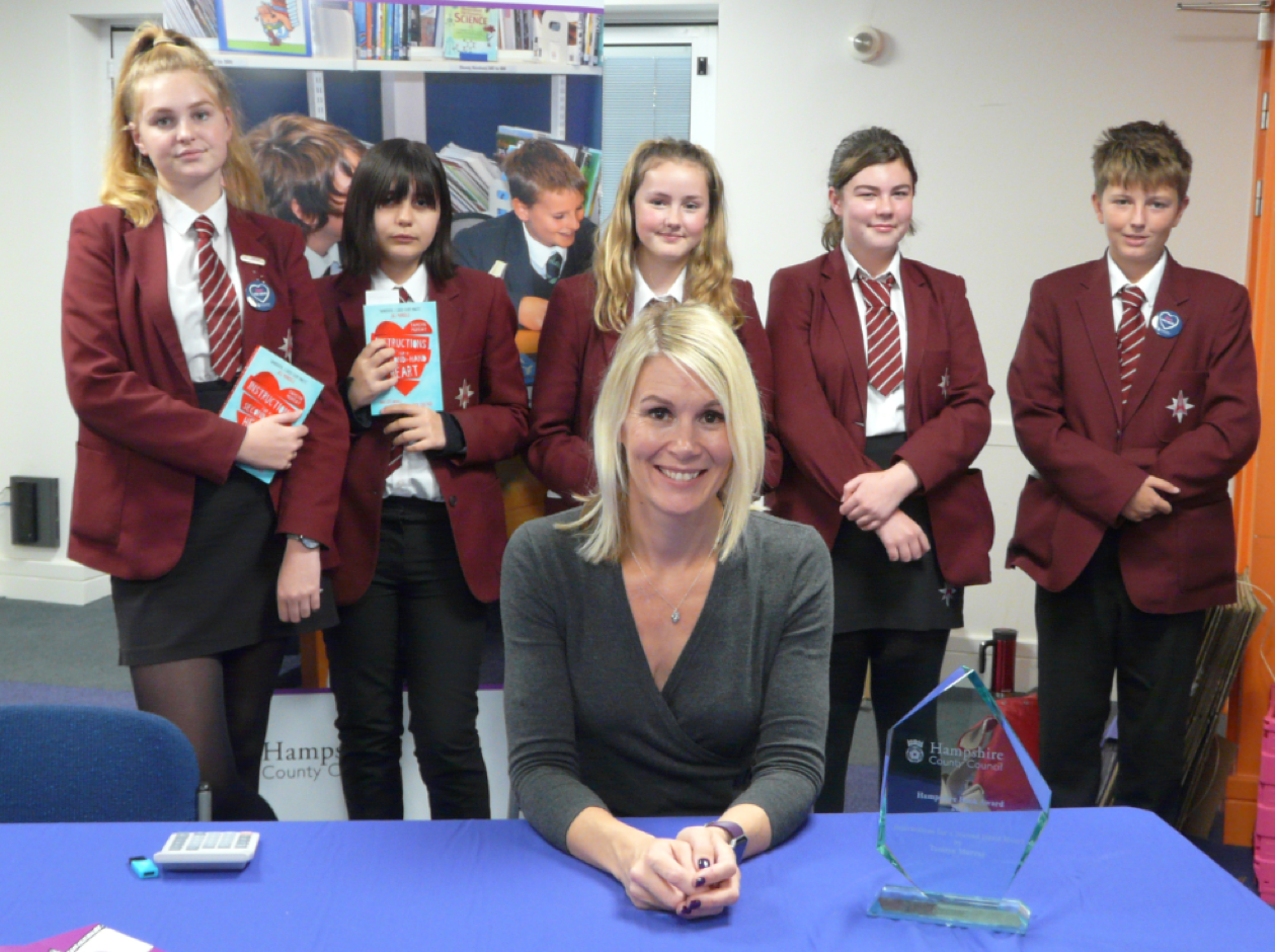 Year 9 Students attend Hampshire Book Awards
