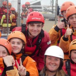 Students enjoy activities at Osmington Bay