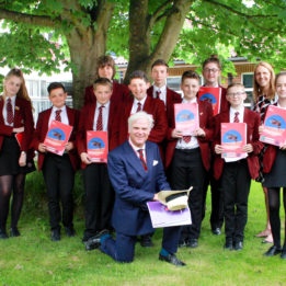 Local MP Desmond Swayne visits Year 8 students taking part in Scholars Programme