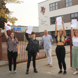 Students delight at A level results